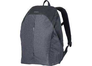 Basil backpack B-safe led graphite black
