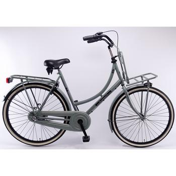 Burgers Pick-Up staal CB 50cm polar-green Dames Transportfiets