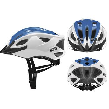Abus S-Cension L race blue fiets helm