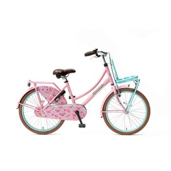 Popal Daily Dutch Basic 22inch mint-roze Transportfiets