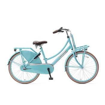 Popal Daily Dutch Basic Plus 24inch turquoise Transportfiets