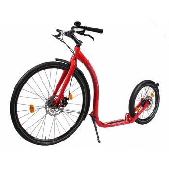 Kickbike Safari rood limited edition step