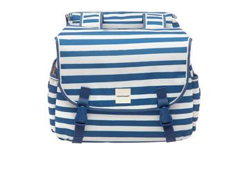 New Looxs dubbele tas Joli Blue stripe