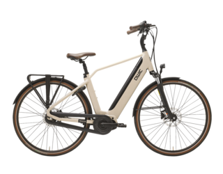 Qwic E-bike Premium i MN7+ Heren Middenmotor Maple Sand