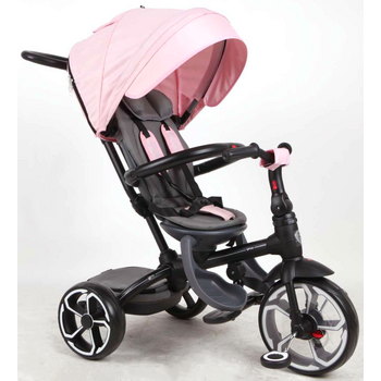 QPlay Prime roze 4in1 driewieler