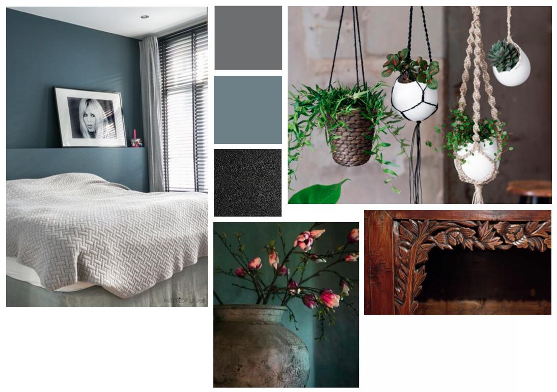 Fotos Slaapkamer Restylen : Restyling slaapkamer wijchen volgens moodboard verhipstyling