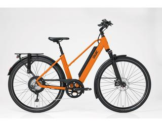 Qwic E-bike Performance RD11 Dames Achterwielmotor Dutch Orange