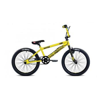 Rooster Big Daddy 20inch geel-zwart Freestyle BMX