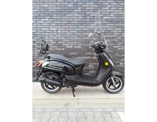 Sym Fiddle II 50 4t snorscooter Zwart glanzend tweedehands