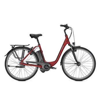 Raleigh Dover 8HS winered matt 14,5Ah 46cm elektrische damesfiets