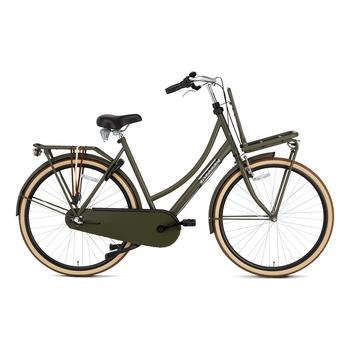 Popal Daily Dutch Basic Plus 50cm army green Transportfiets