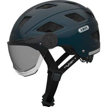 Abus Hyban+ L midnight blue fiets helm