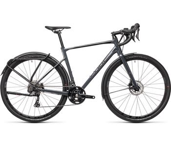 CUBE NUROAD RACE FE GREY/BLACK 2021 58 cm