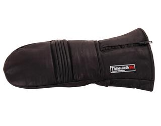 Handschoenen Want leer thinsulate zwart maat M-L-XL-XXL