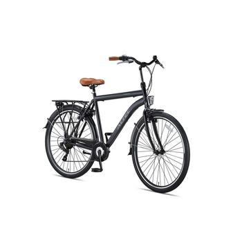Altec Travel 58cm mat zwart Herenfiets