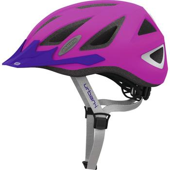 Abus Urban-I 2.0 M neon pink fiets helm