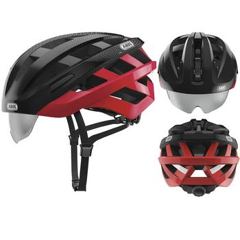 Abus In-Vizz Ascent M red comb race helm