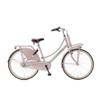 Popal Daily Dutch Basic Plus 26inch zalm Transportfiets