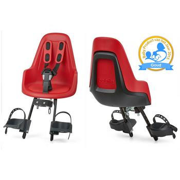 Bobike Mini One Strawberry red (voor)