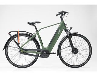 Qwic E-bike Urban FN7lite Heren Voorwielmotor Army Green