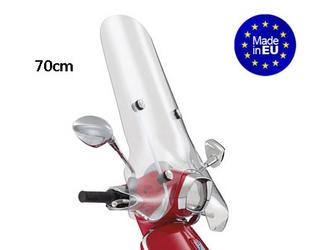 Windscherm Hoog Transparant EU Vespa Sprint Scooter