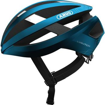 Abus Viantor L steel blue race helm