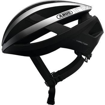 Abus Viantor L gleam silver race helm