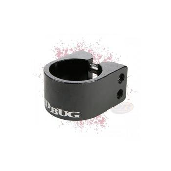JD Bug Pro double collar clamp zwart