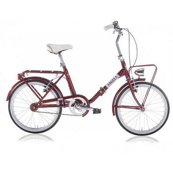 MBM Angela 20inch rood vouwfiets