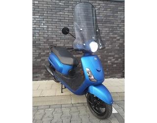 Sym Fiddle II 50 4t BLUE Special Tweedehands snorscooter 25 km. p/u.