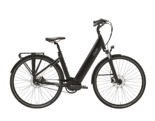Qwic E-bike Premium i MN7+ Belt Dames Middenmotor Matte Black