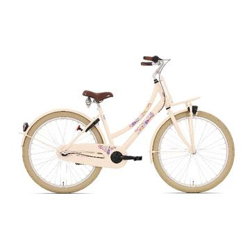 Bike Fun Love & Peace N3 26inch creme meisjesfiets