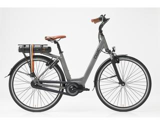 Qwic E-bike Premium MN7 Dames Middenmotor Space Grey