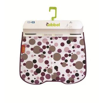 Qibbel Stylingset Luxe Windscherm Dots-Purple Q714