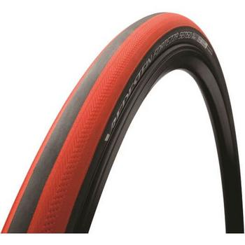 Vredestein buitenband race Fortezza Senso all weather 700x25C zwart/rood