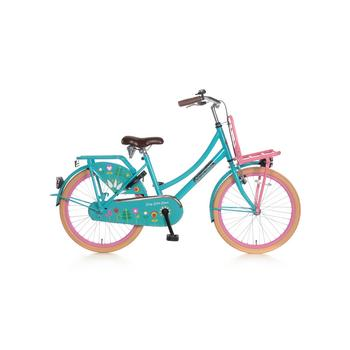 Popal Daily Dutch Basic 22inch bloom turquoise Transportfiets