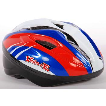 Volare fiets/scate helm deluxe Rood-Blauw-Wit