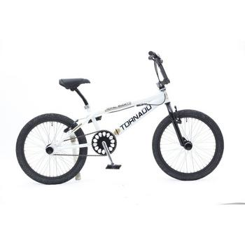 Tornado Royal Bugatti 20inch wit-zwart Freestyle BMX
