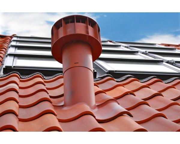 Dakdoorvoer Ventilatie Badkamer : Design ventilatie multivent Ø 131 750 mm colored roofs