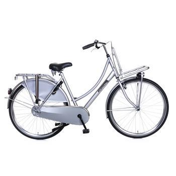 Popal Daily Dutch Basic 53cm zilver Transportfiets