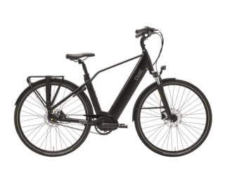 Qwic E-bike Premium i MN7+ Belt Heren Middenmotor Matte Black