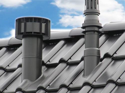 Badkamer Ventilatie Dakdoorvoer : Design mechanische ventilatie multivent Ø mm colored roofs