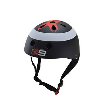 Kiddimoto Hero Lorenzo zwart Small helm
