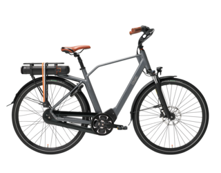 Qwic E-bike Premium MN8 Tour Heren Middenmotor Graphite