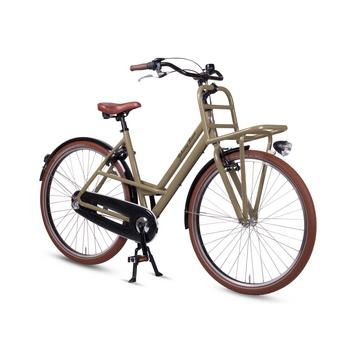 Johnny Loco Urban Cruiser olive grey damesfiets