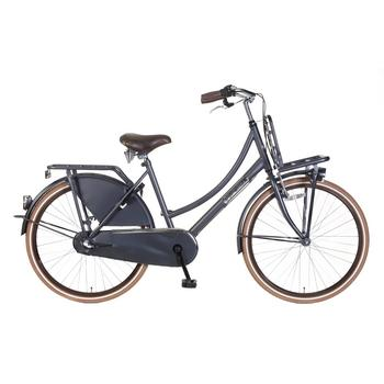 Popal Daily Dutch Basic Plus 26inch petrol blauw Transportfiets