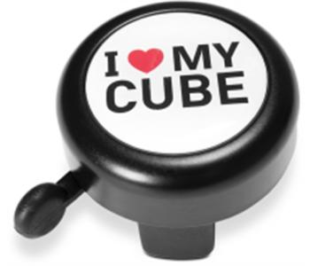 Cube Bell I Love My Cube Black/white/red