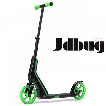 JD Bug Smart 185 Pro Commute zwart-groen vouwstep
