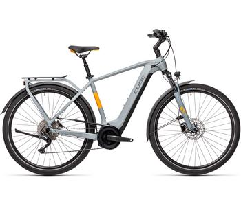 CUBE TOURING HYBRID PRO 625 GREY/ORANGE 2021 54 CM