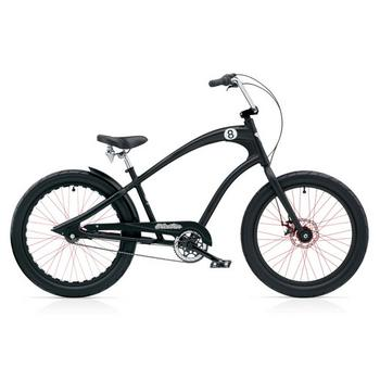 Electra Straight 8 8i 24inch black herenfiets